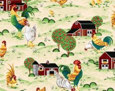 london fabric rooster crafts - Buscar con Google