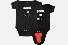RIDE Baby Onesie shop.pearlizumi.com http://www.bicycling.com/bikes-gear/gift-guides/the-12-best-gifts-for-kids-who-ride/ride-baby-onesie