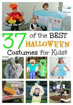 Over 40 of the BEST DIY Homemade Halloween Costumes for Babies & Kids from… Halloween Costumes To Make, Halloween Treats For Kids, Halloween Activities For Kids, Halloween Costume Contest, Homemade Costumes, Holidays Halloween, Halloween Crafts, Costume Ideas, Happy Halloween