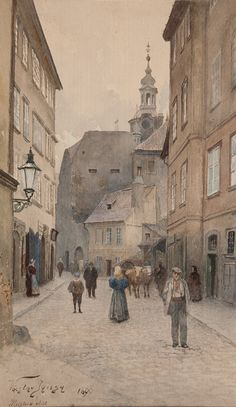 Praha Václava Jansy — Pátá čtvrť: zmizelé město pražské
