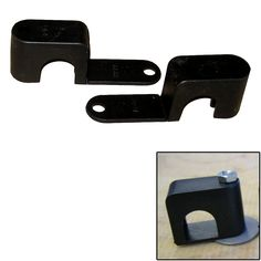 """Weld Mount Single Poly Clamp f/1/4"""" x 20 Studs - 3/4"""" OD - Requires 1.75"""" Stud - Qty. 25 - https://www.boatpartsforless.com/shop/weld-mount-single-poly-clamp-f14-x-20-studs-34-od-requires-1-75-stud-qty-25/"""