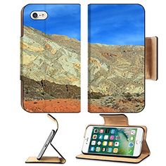 Luxlady Premium Apple iPhone 7 Flip Pu Leather Wallet Case iPhone7 IMAGE ID 26283457 Colors of Nevada * For more information, visit image link.