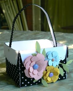 KB Papercraft: Easter Baskets and Boxes
