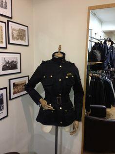 Barbours iconic ladies international jacket