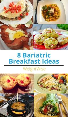 8 Bariatric Breakfast Ideas for weight loss surgery patients