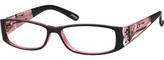 Order online, women pink full rim acetate/plastic rectangle eyeglass frames model #339228. Visit Zenni Optical today to browse our collection of glasses and sunglasses.