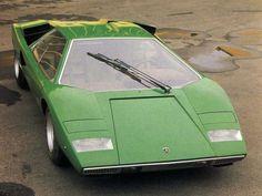 Lamborghini Countach LP400 1974   Lamborghini Countach Concept & LP400 » ISO50 Blog – The Blog of ... #alfaromeocarabo