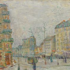 Boulevard de Clichy Vincent van Gogh, 1887