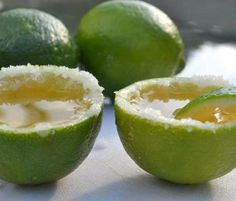 Lime with salt filled with tequila, ideal welcome drink for your destination wedding in México