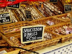 The Saturday market on Place Richelme,Aix -en-Provence, is one of those places that causes you to pause, take a deep breath, and let out a long, slow sigh…. Voilà, it seems to say, This is Provence.