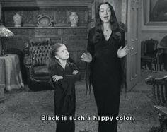 Morticia Addams is my spirit animal.