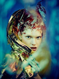 Sophia Nilsson by Nicolas Guérin for Vestal Magazine