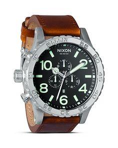 Mark - Nixon The 51-30 Chrono Watch, 51.25mm | Bloomingdale's