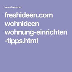 freshideen.com wohnideen wohnung-einrichten-tipps.html