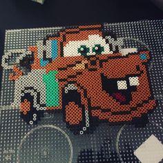 Cars character hama beads by hrawa