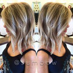 #azhair #ombre #healthyhair #sumbow #blonde