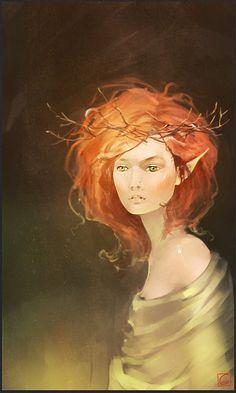 Illustrazione di Alexandra Khitrov. :)