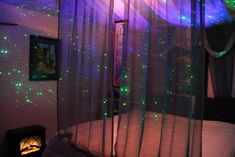 Here is just one of many ways that we have transformed bedrooms into luscious boudoirs that transport your love into space. The holographic lighting effects of BlissLights Bliss 15 or Bliss 50 and ...