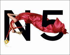 Chanel nº5 by Jean Paul Goude.