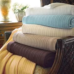 Egyptian Cotton Bed Blanket - Frontgate