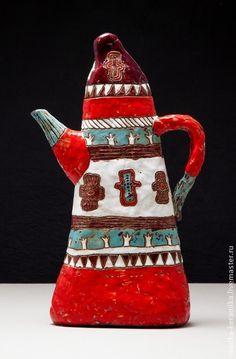 Пасхальный Чайник-кувшин с орнаментом. СЕЙЧАС МОЖНО КУПИТЬ В МОСКВЕ!! -