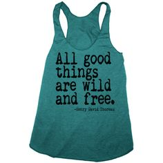 ALL GOOD THINGS are Wild and Free american apparel Tri-Blend Racerback... ($21) ❤ liked on Polyvore