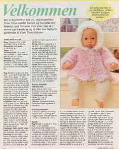 Doll Sewing Patterns, Doll Clothes Patterns, Baby Knitting Patterns, Clothing Patterns, Barbie And Ken, Barbie Dolls, Crochet Dolls, Crochet Baby, Dolly Fashion