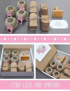 Hermanas Bolena: El kit DIY de María y Alfonso... y algo más. Soap Packaging, Jewelry Packaging, Packaging Design, Diy Y Manualidades, Diy And Crafts, Paper Crafts, Diy Kits, Gift Tags, Packing