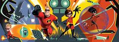 Amazon.com: Ceaco Disney Panoramic Incredibles 2 Jigsaw Puzzle, 700 Pieces: Toys & Games