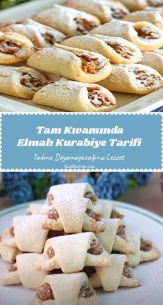 Subway Cookie Recipes, Empanadas, Turkish Recipes, Dessert Recipes, Desserts, Food Preparation, Food Videos, Food And Drink, Cooking Recipes