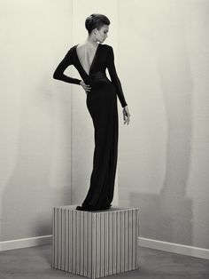 a head for business and a body for sin: karlie kloss by roe ethridge for acne paper sweden #14 fall 2012  