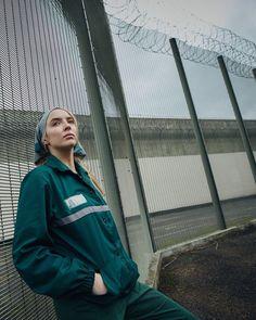 Eve Show, Prison Outfit, Nike Jacket, Rain Jacket, Sandra Oh, Jodie Comer, Big Little Lies, Brooklyn Nine Nine, Cool Style