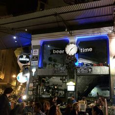 Psiri Times Square, Greece, Beer, Travel, Life, Greece Country, Root Beer, Ale, Viajes