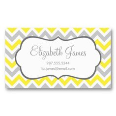 Mint and Yellow Colorful Chevron Stripes Business Card Template. This great business card design is available for customization. All text style, colors, sizes can be modified to fit your needs. Just click the image to learn more!