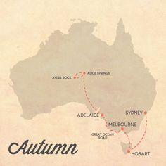 Itinerary for Australia Autumn