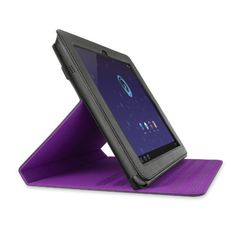 Belkin Verve Folio Case with Stand for Samsung Galaxy Tab 10.1inch (Black/Purple) by Belkin, mine in red for my tab 2 7.0