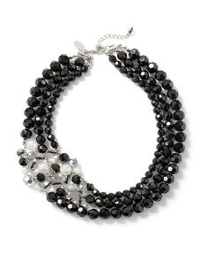 Why do I keep gravitating to this type of black necklace?