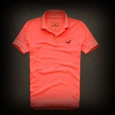 ホリスター メンズ ポロシャツ Hollister First Point Polo ポロシャツ-アバクロ 通販 ショップ-【I.T.SHOP】 #ITShop
