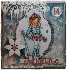 Lenashobbyblogg: DT kort, utfordring hos CMN: Vinter