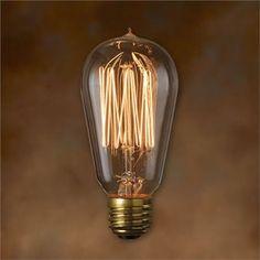 60W - Antique Light Bulb - ST18 Signature - Medium Base - Bulbrite Nostalgic