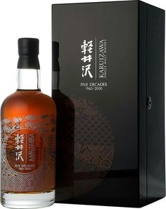 Karuizawa Five decades 1960 - 2000 - Liquor - Coffee Cigars And Whiskey, Scotch Whiskey, Aged Whiskey, Alcohol Bottles, Liquor Bottles, Karuizawa, Whisky Single Malt, Tequila, Rum Bottle