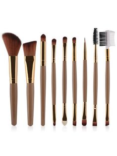 SHARE & Get it FREE | 9 Pcs Makeup Brushes Set - Champagne GoldFor Fashion Lovers only:80,000+ Items • New Arrivals Daily Join Zaful: Get YOUR $50 NOW!