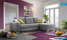 Sofa, Couch, Modern, Furniture, Youtube, Home Decor, Loreto, Elegant, Settee