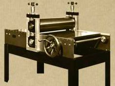 John Maitland Graves on 'everything you need to know about etching presses' ...