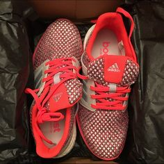 6.5 Women's Solar Boost Adidas Running shoes BRAND NEW. never worn, wrong size!   Size 6.5 women's adidas solar boost running tennis shoes. comes with original box. Originally $80 Adidas Shoes Athletic Shoes