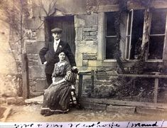 The Winthorpes, who lived in the village, are pictured. It has been underwater for 74 years after being flooded for a reservoir Old Pictures, Old Photos, Peak District England, Derwent Valley, Duke Of Devonshire, Lost Village, First Photograph, Derbyshire, British History