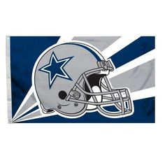 NFL Dallas Cowboys 3-by-5 Foot Helmet Flag Fremont Die…