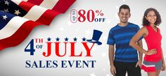 80% off during the 4th of July Sales Event at Tennis Express!