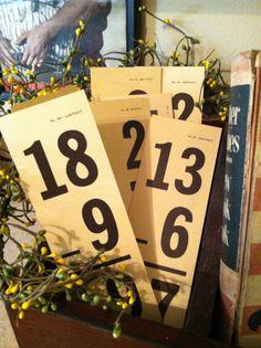 Estate Find Lot of 15 Old Vintage School Math by juliegoesjunkin, $7.50