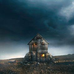 Photo Colour, Color, Cabin, House Styles, Home Decor, Decoration Home, Room Decor, Colour, Cabins